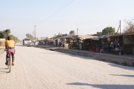 The local Market in Chipulukusu