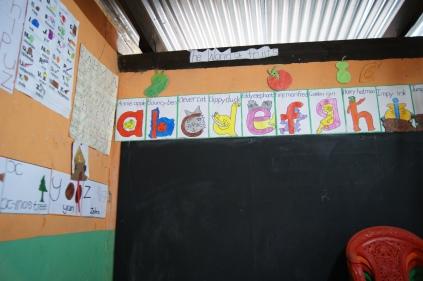 pictures inside Graceland School; junior room