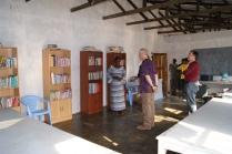 Library inside Graceland School