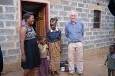 with Joyce, Abram and Betina