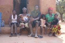 Elizabeth and her Grandchildren