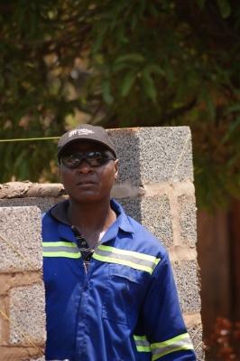 Felix Tafeni, our foreman