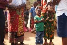 Mpalo saying his prayers