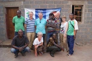 The building team September 2015