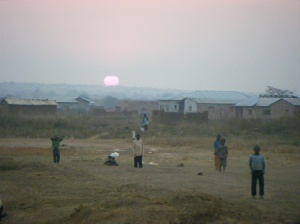 Sunset over Chipulukusu