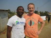 Paul Chishimba and Brian