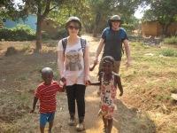 Anna and Maurice, always accompanied by children