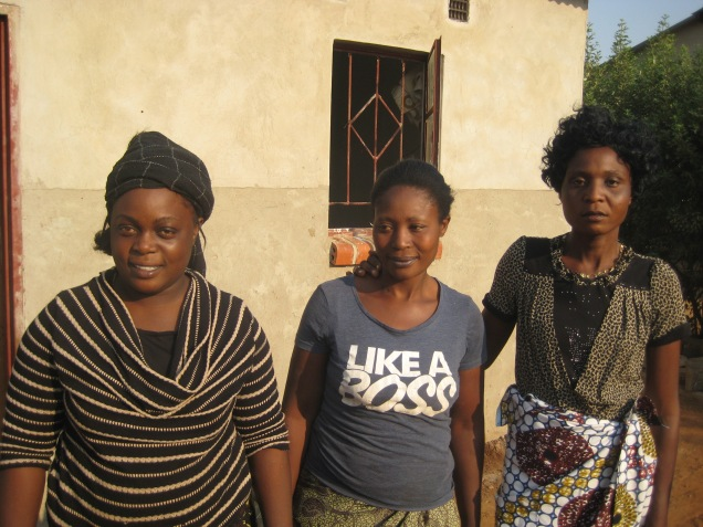 Mary, Margaret and Anna, our Kitchen Lady's and friends