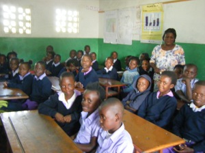 Pupils at Graceland School