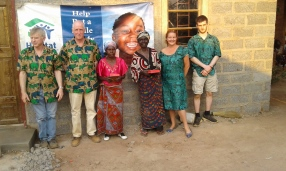Robert, Michael, Failet, Jennifer, Mary and Shane, Chipulukusu August 2016