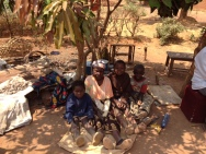 Failet and her grandchildren