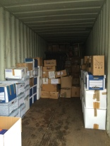 Packing Books into the Container
