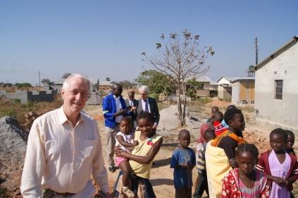 with the Irish Ambassador Seamus O'Grady at George Affiliate